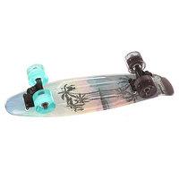 Скейт мини круизер Sunset Tres Palms 22 Grey 5 x 22 (55.8 см)