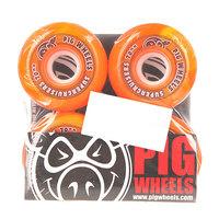 Колеса для скейтборда для лонгборда Pig Supercruiser New Orange 88A 70 mm