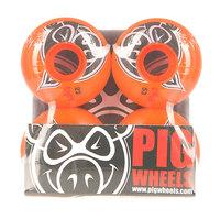 Колеса для скейтборда для скейтборда Pig Head Orange 100A 53 mm