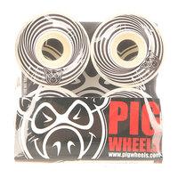 Колеса для скейтборда для скейтборда Pig Vertigo Black 100A 52 mm