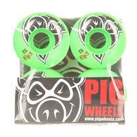 Колеса для скейтборда для скейтборда Pig Head Green 100A 52 mm