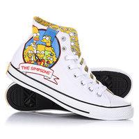 Кеды кроссовки высокие Converse 146809 White