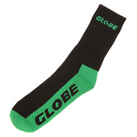 Носки средние Globe Mid Socks Plus Black/Green