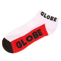 Носки низкие Globe Multi Bright Ankle Sock White/Red