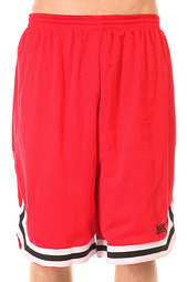 Шорты классические K1X Hardwood Big Hole Mesh Double Red