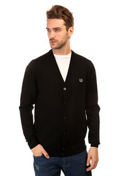 Кардиган Fred Perry Classic Tipped Cardigan Black