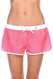 Шорты пляжные женские Billabong Cacy 19 Red Hot Dots