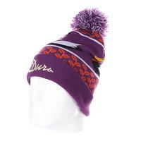 Шапка с помпоном Запорожец Ditch 2 Beanies Purple