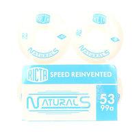 Колеса для скейтборда для скейтборда Ricta Naturals White/Blue 100A 53 mm