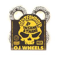 Колеса для скейтборда для скейтборда Oj Team Rider Hard Line Insaneathane White/Black 99A 53 mm