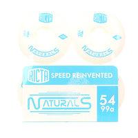 Колеса для скейтборда для скейтборда Oj Naturals White/Blue 100A 54 mm
