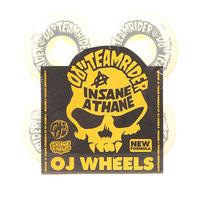 Колеса для скейтборда для скейтборда Oj Team Rider Ez Edge Insaneathane White/Grey 101A 56 mm
