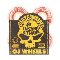 Колеса для скейтборда для скейтборда Oj Team Rider Ez Edge Insaneathane White/Red 101A 52 mm