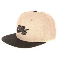 Бейсболка с прямым козырьком Nike SB Hemp Pro Snapback Bamboo Black Pine Green