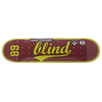 Дека для скейтборда для скейтборда Blind S6 Athletic Skin Rhm Plum 31.2 x 7.75 (19.7 см)