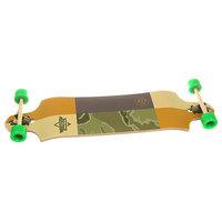 Лонгборд Dusters Scout Drop-down Longboard Kryptonics Green 9.75 x 38 (96.5 см)