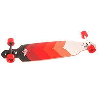 Лонгборд Dusters Wake Drop-through Longboard Kryptonic Red 9.375 x 38 (96.5 см)