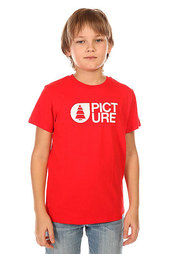 Футболка детская Picture Organic T Shirt Basement Red