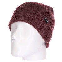 Шапка Nixon Go Beanie Burgundy Heather