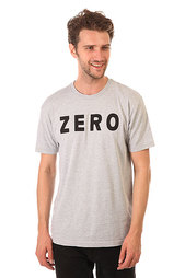 Футболка Zero Army Premium Heather Grey/Black
