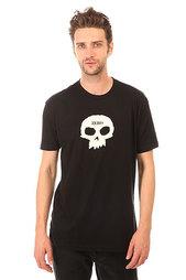Футболка Zero Single Skull Premium Black