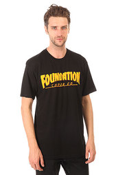 Футболка Foundation Thrasher Black