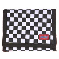 Кошелек Dickies Dickies Pit Check Unisex Nylon Canvas Wallet Black/Hky