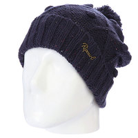 Шапка с помпоном Rip Curl Narvik Beanie. Dress Blue