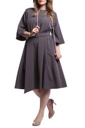 Платье с поясом Надежда Бабкина