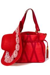 Комплект: сумка, шляпа Esmee