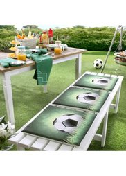 Подушка для скамейки Футбол (зеленый) Bonprix