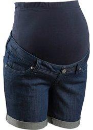 Мода для беременных: джинсовые шорты (голубой) Bonprix