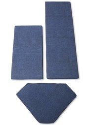 Подушки для углового кухонного дивана (3 изд.) (серый) Bonprix
