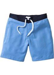 Пляжные шорты Regular Fit длинного покроя (темно-синий) Bonprix