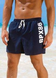 Мужские купальные шорты (темно-синий) Bonprix