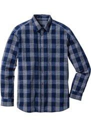 Рубашка Regular Fit с длинным рукавом (темно-красный в клетку) Bonprix
