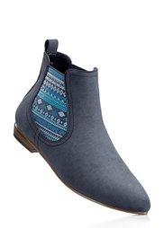 Ботинки-челси, Ширина изделия: нормальная (бурый) Bonprix