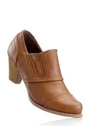 Закрытые туфли, Ширина изделия: нормальная (коньячно-коричневый) Bonprix