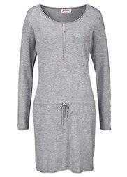 Вязаное платье (бурый) Bonprix