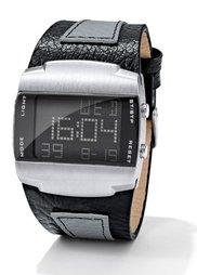 Мужские цифровые часы (коричневый) Bonprix