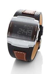 Мужские цифровые часы (черный/серый/синий) Bonprix