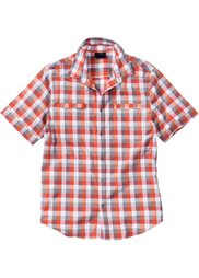 Клетчатая рубашка Regular Fit (аква в клетку) Bonprix