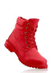 Ботинки на шнурках (медовый) Bonprix