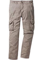 Легкие брюки-карго Regular Fit Straight, cредний рост (N) (черный) Bonprix