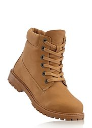 Ботинки на шнурках (красный) Bonprix