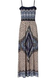 Платье макси (омаровый) Bonprix