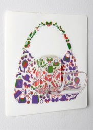 Вешалка для сумок Луиза (6 крючков) (различные расцветки) Bonprix