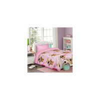 """Комплект """"Буфл"""" 1,5-спальный (на розовом, 50*70)"""