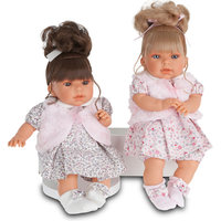 Кукла Лучия в  розовом, 37 см, Munecas Antonio Juan