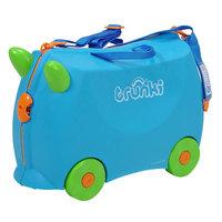 Голубой чемодан на колесиках Knorrtoys.Com